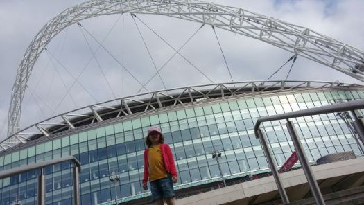 H outside Wembley