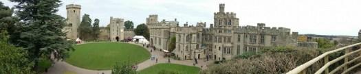 Warwick Castle Panorama