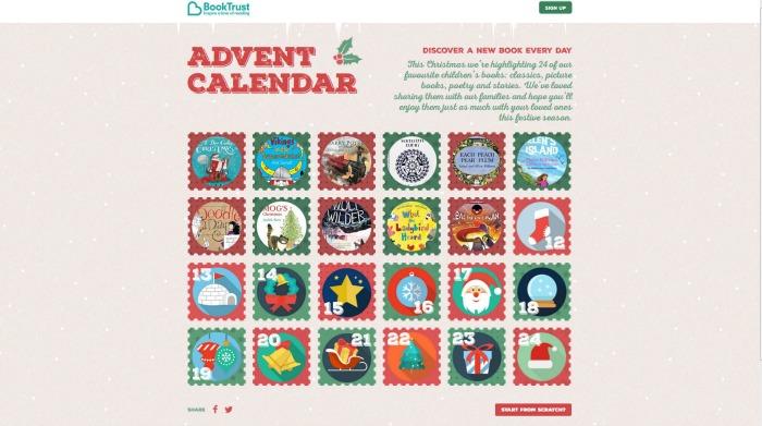 BookTrust Digital Advent Calendar