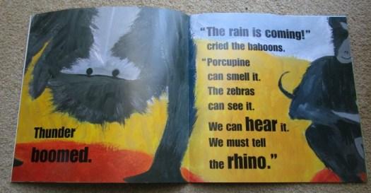 Rain by Manya Stojic