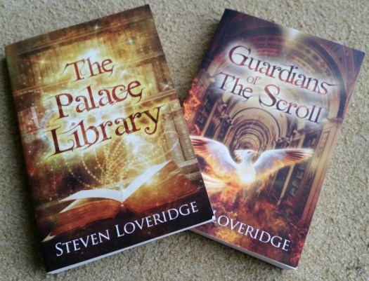 Guardians of the Scroll and The Palace Library by Steven Loveridge