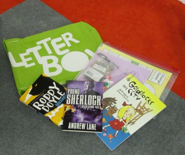 Book Trust Letterbox example
