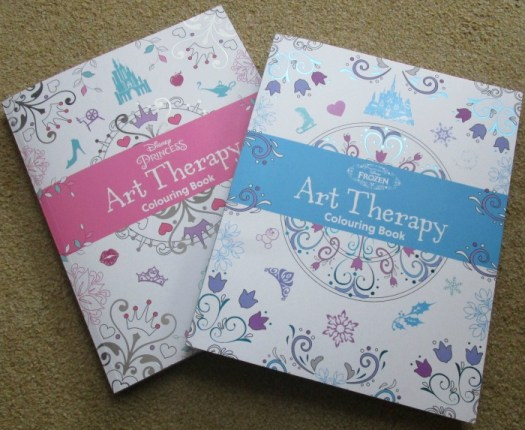 Disney Art Therapy Colouring Books Disney Princess and Frozen