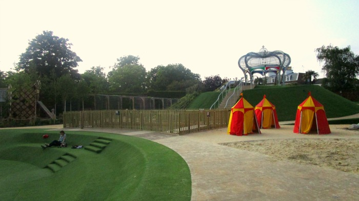 Hampton Court Magic Garden May 2016