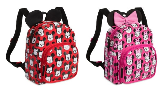 Disney MXYZ Mickey and Minnie backpacks