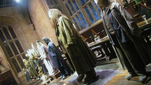 Harry POtter tour great hall costumes