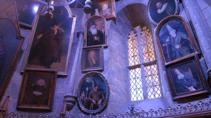 Harry Potter tour pictures in Dumbledore's office