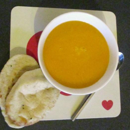 Souper Sweet Summer Soup served
