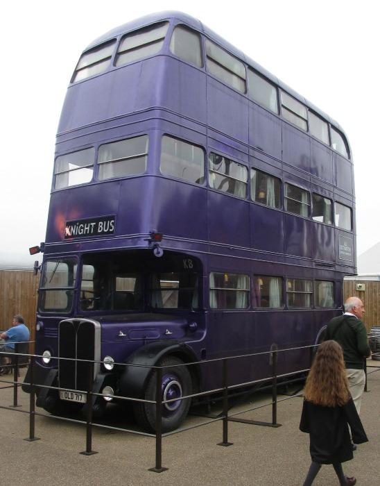 harry potter tour knight bus