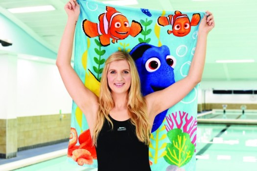 Rebecca Adlington Change4Life Team Dory