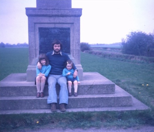 Dad at Marston Moor