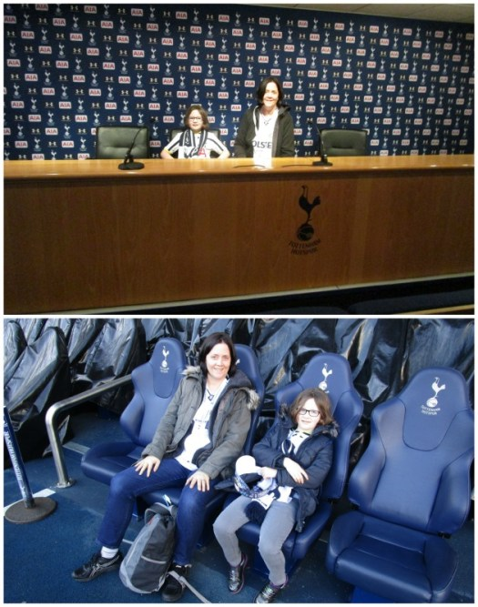 Father Christmas Stadium Tour at Tottenham cool stuff