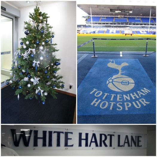 Father Christmas Stadium Tour at Tottenham various sights
