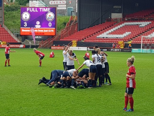 Tottenham Ladies win!