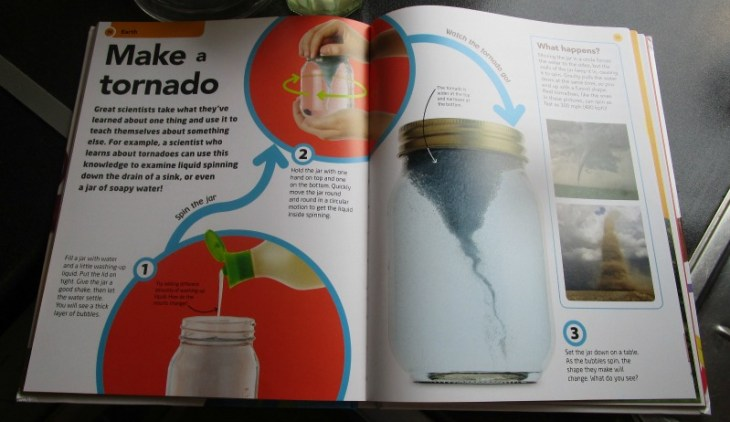 How to be a scientist - make a tornado