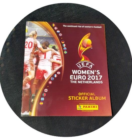 UEFA Womens Euro 2017 Panini Sticker Book