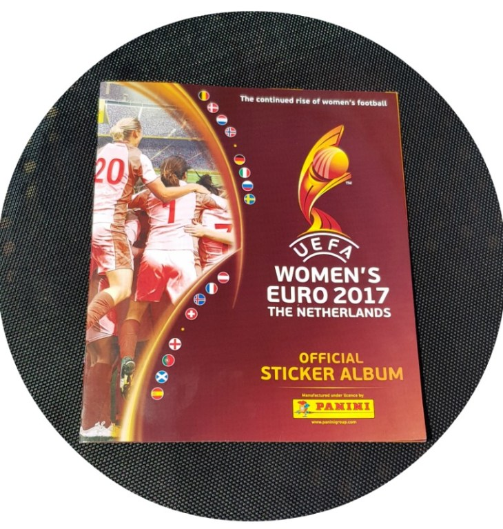 UEFA Womens Euro 2017 Panini Sticker Book