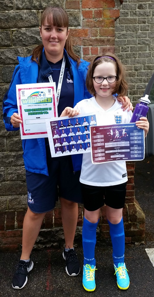 Girls' Football Week Euro Celebrations