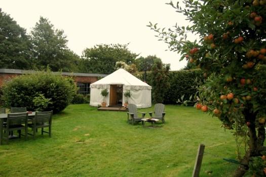 Short Essex Family Break Woodpecker Yurt, Essex