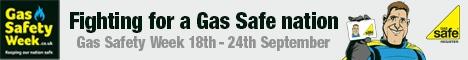 Gas Safety Week 2017 banner