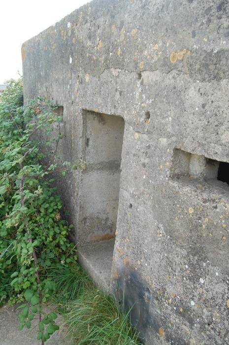 World War pillbox at Sandy Bay