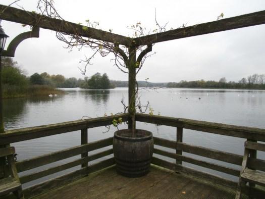Castle Howard lake from Boathouse Cafe