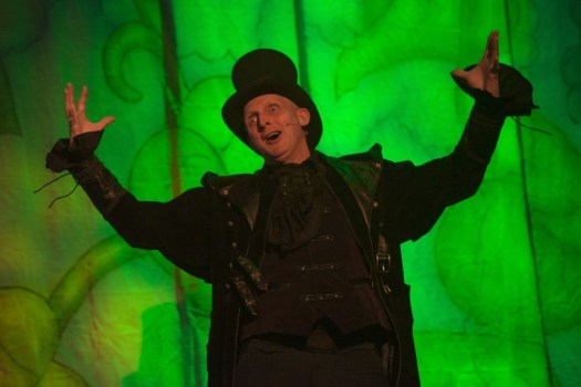 Steve Edwin (Fleshcreep) in Jack and the Beanstalk at Waddon Leisure Centre (photo James Spicer)