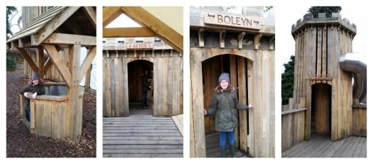 Hever Castle Tudor Towers Adventure Playground