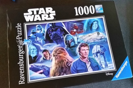 Ravensburger Star Wars Collection Jigsaw box