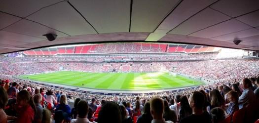 Women's FA Cup Final 2018 panorama, Women's FA Cup Final 2018