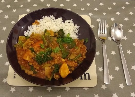 Deliciously Ella Lentil and Potato stew