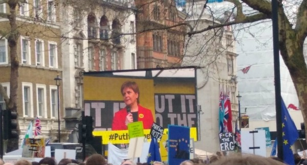 Nicola Sturgeon Put it to the People March