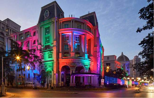 Christmas Winter Light Fiesta At Powai Hiranandani And