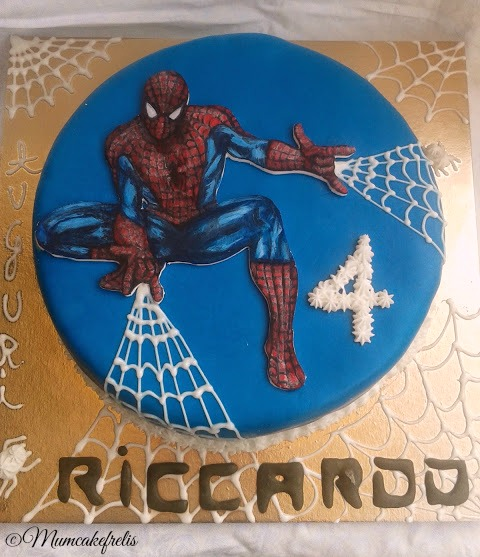 Torta uomo ragno con cialda dipinta a mano, Kids Parties, Kids Birthday, Spiderman Parties, Spiderman Cake, Birthday Parties, Spiders Man, Cake Ideas, Parties Ideas, Birthday Cake