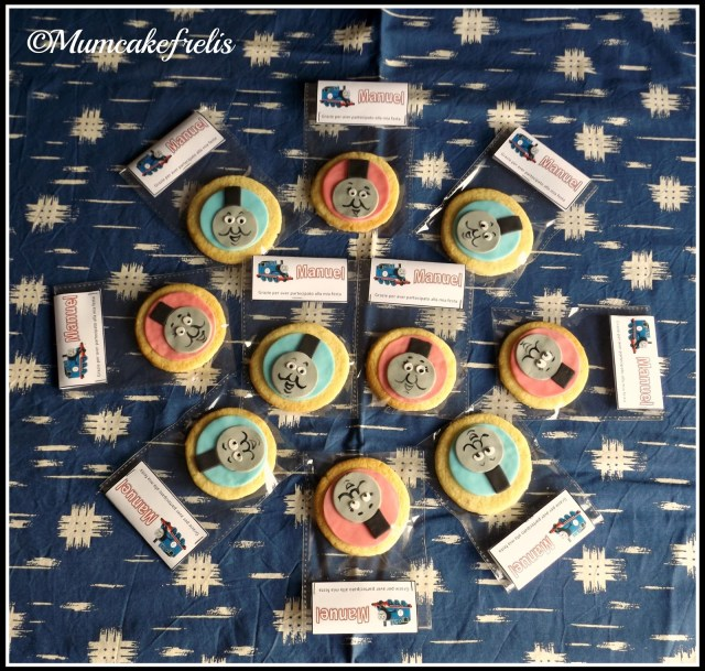 Toppers - Cookie Toppers - Party Biscotti e Torta di Thomas il Trenino