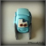Guido Cars cake topper