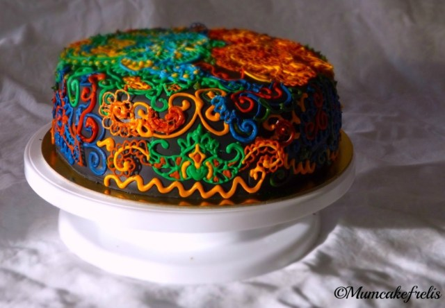 Desigual cake (birthday Cake) made for mum