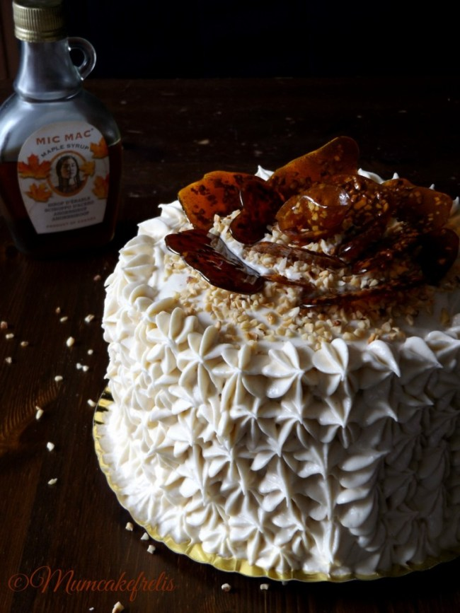 Carrot cake with Maple Cream Cheese Frosting recipes