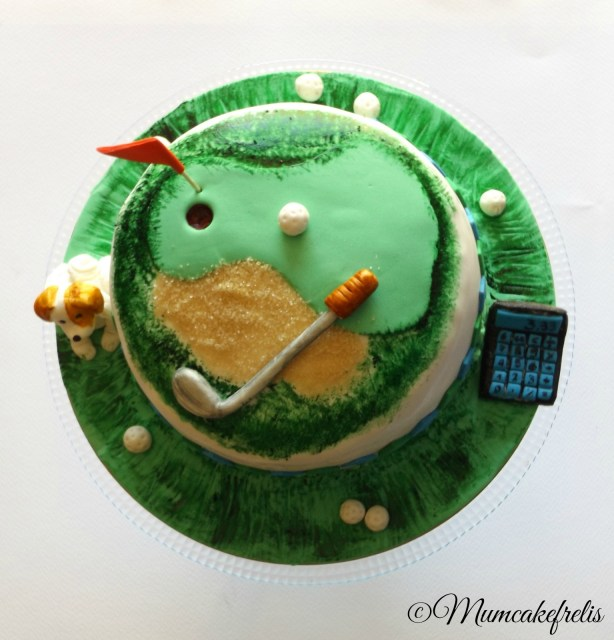 need a golf cake for the  birthday