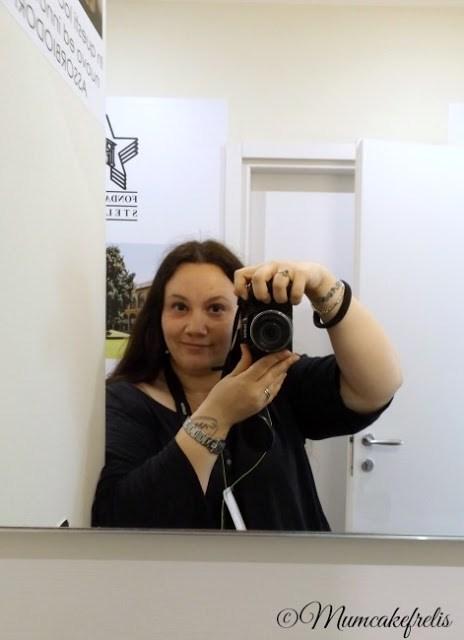 Lisa Fregosi Mumcakefrelis autoscatto al mammacheblog di Milano tenutosi il 7-8 maggio 2015 da fattoremamma