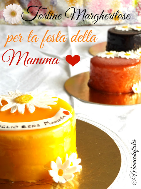 Torta per la festa della mamma torta con margherite festa della mamma torta Mother's Day cake fondant cake for mom Dedicated to all mums out there fondant, gumpaste, mums, flowers