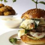 Hamburger di Sorana, zucchine grigliate e formaggio Asiago D.o.p per MTC 49