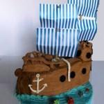 Torta Nave dei Pirati tutorial