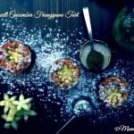 Tartellette al cetriolo con crema frangipane – Bakewell Cucumber Tart per Re-cake