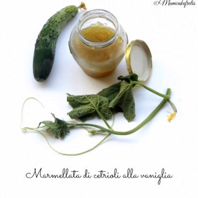 Marmellata di cetriolo – Cucumber Jam