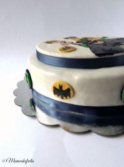 batman e robin cake