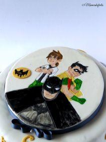 Batman2C Robin2C Ben Ten Torta 28529
