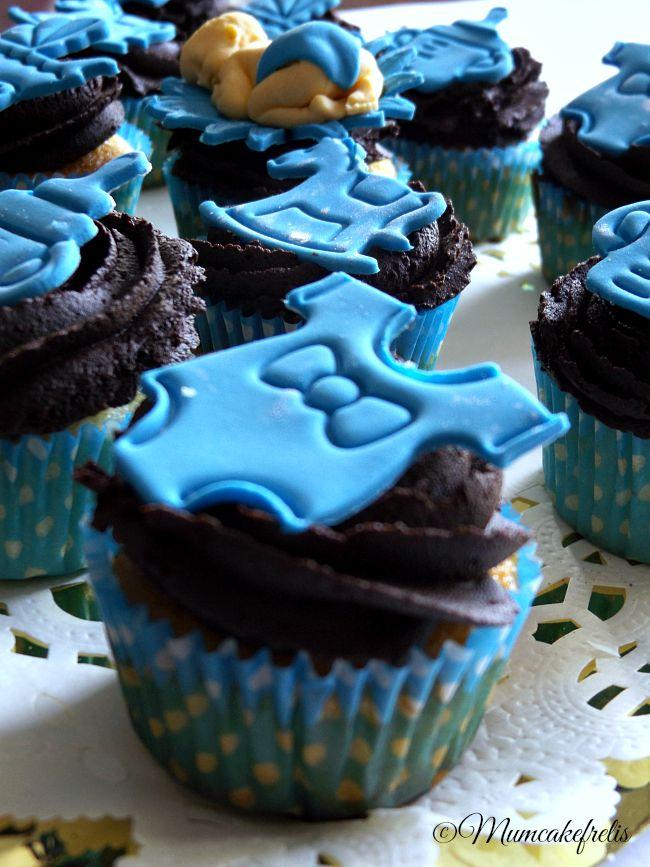 cupcake per maschietto