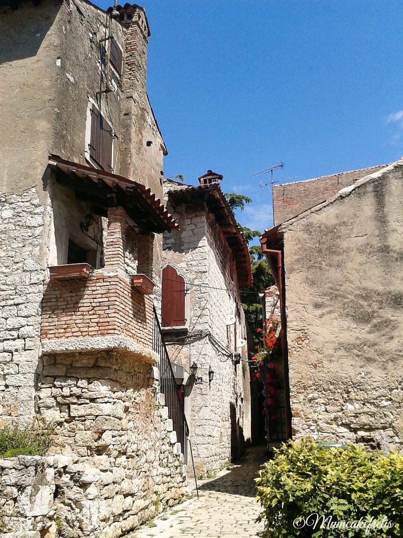 Case storiche a Parenzo