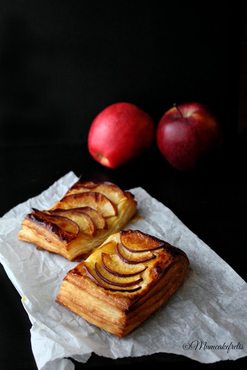 Ricetta sfogliatine con mela